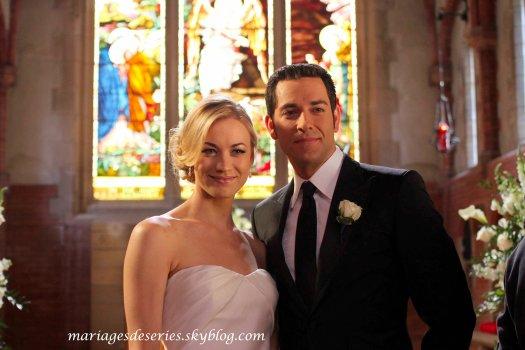 Chuck Bartowski (Zachary Levi) & Sarah Walker (Yvonne Strahovski)