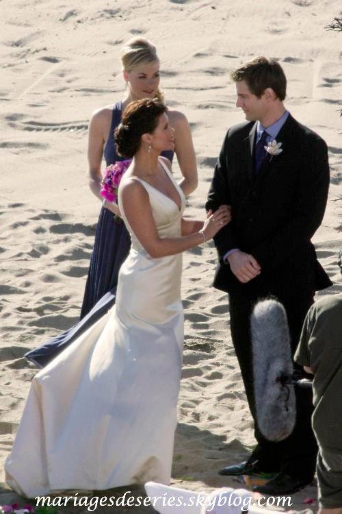 Ellie Bartowski (Sarah Lancaster) & Devon Woodcomb (Ryan McPartlin)