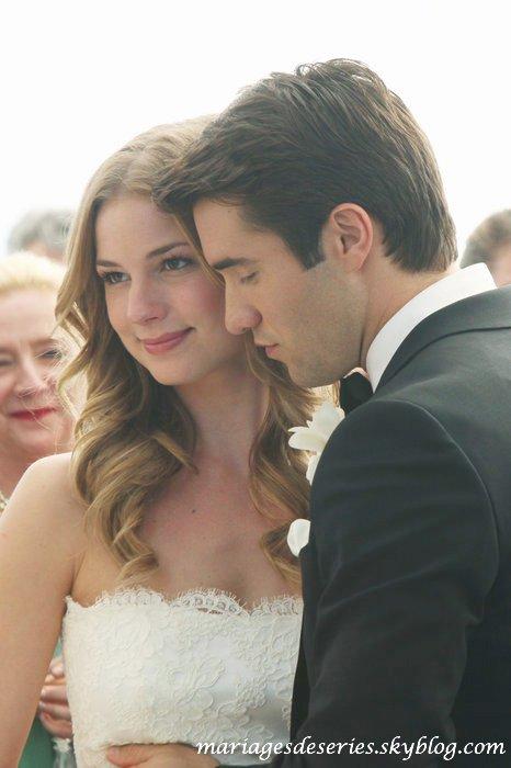 Emily Thorne (Emily Van Camp) & Daniel Grayson (Joshua Bowman)