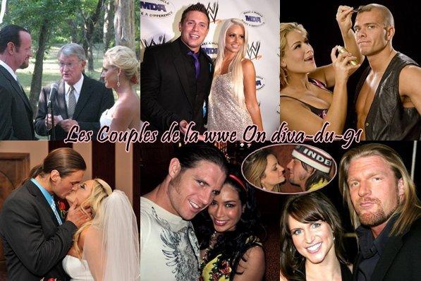 ♥ Les couples de la wwe ♥