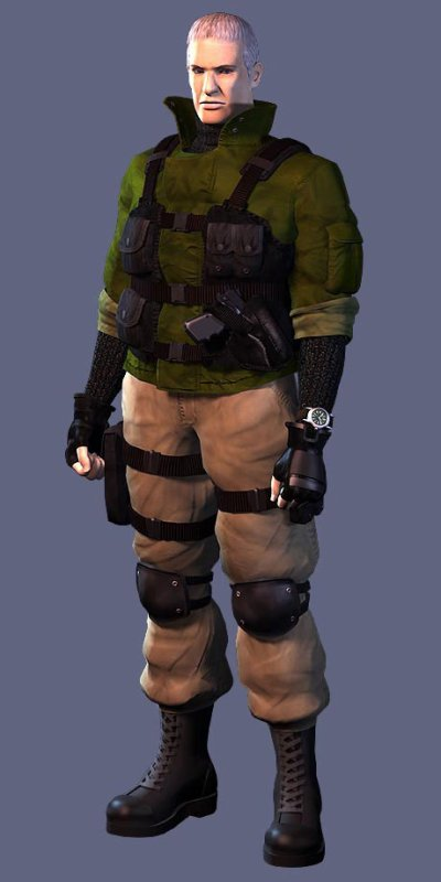 personnage resident evil