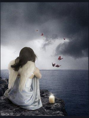 Mon coeur blessé /  Au fond de mon coeur blessé, je te cherche