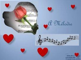 A mélodie _ Dédicace à Patrick Dorval, qui est très cher à mon coeur xx