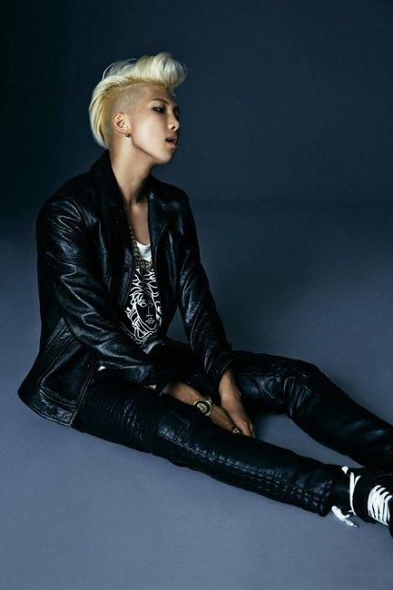 Kim NamJun (Rap Monster) (Leader)