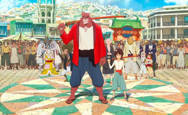 Bakemono no Ko    Le Garçon et la Bête