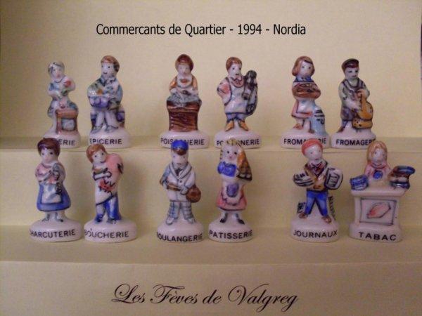 COMMERCANTS DE QUARTIER 1994 SOCLE BLANC