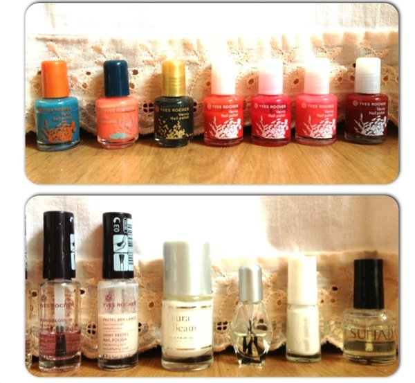 "MA ""PETITE"" COLLECTION DE VERNIS"