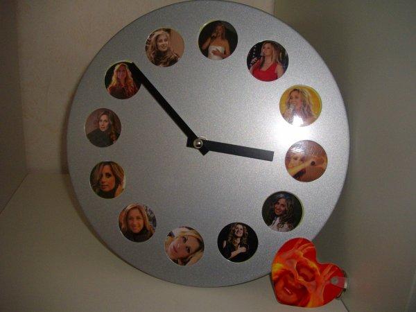 Horloge  que ma offert un ange lors du show case de Lara le 15 janvier 2012