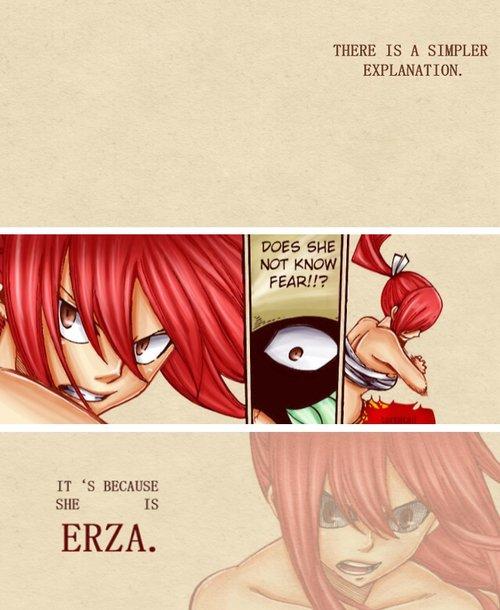 """"""" Ce qui est important ce n'est pas la magie, c'est le c½ur de celui qui la manie. """" - Erza Scarlet"""