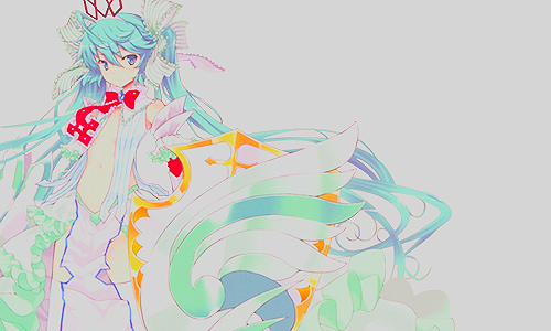 """ Je ne peux donc même pas rêver ? "" - Miku Hatsune"