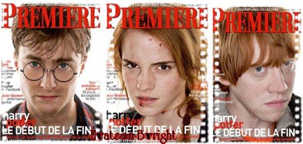 Couvertures du magazine Premiere