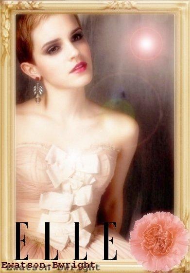 """Emma Watson : Dans le magazine Russe """" Elle """""""