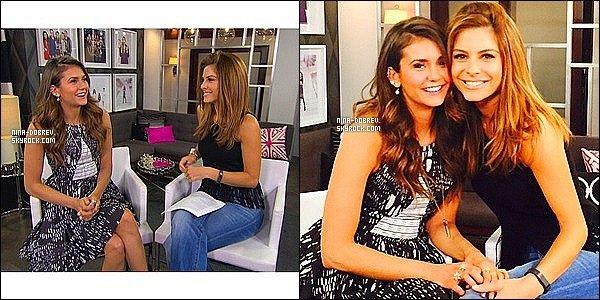 . INTERVIEW . :  Nina Dobrev à accordé une interview à la chaîne américaine E! News à LA !