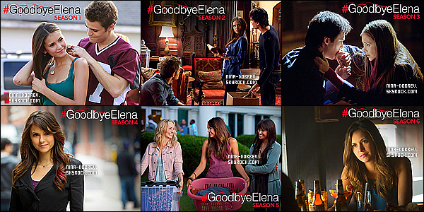 #GOOD BYE ELENA.____