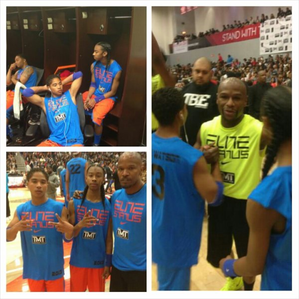 Kelly Rowland, The Game, Mindless Behavior Attend ...