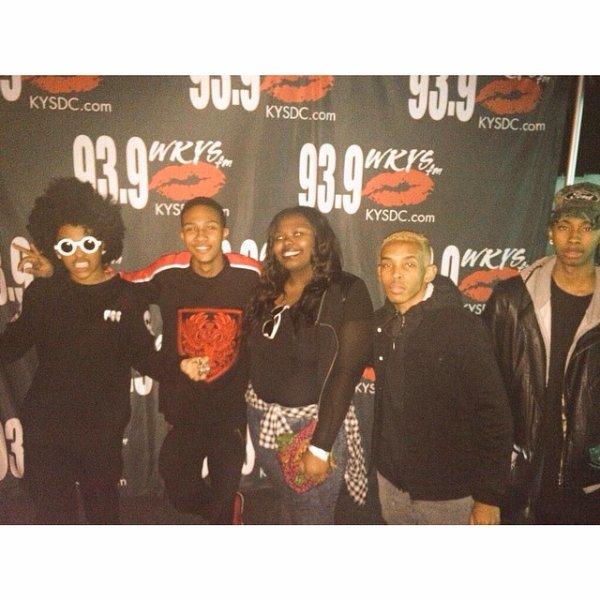19 Décembre 2014: Les Mindless Behavior étaient en meet&greet et en concert à Washington DC