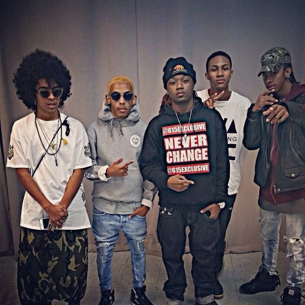 20 Décembre 2014: Les Mindless Behavior donnaient un concert à Nashville (Tennessee)