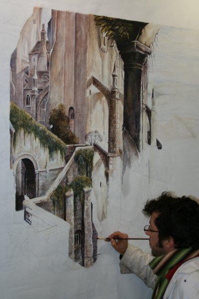 AERO STYL' Académie c'est aussi la magie picturale du pinceau