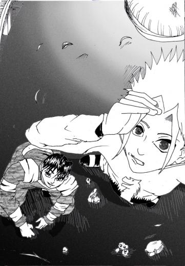 Nasuki regarde en haut