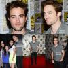 Le 12/07/12: Rob était au comic con avec ses Co-star de Twilight. J'adore sa tenue, il est vraiment parfait.