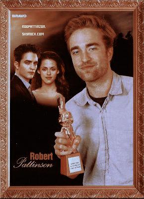 Robert pattinson à gagné le BRAVO-otto d'or allemand pour le meilleur acteur de l'année.