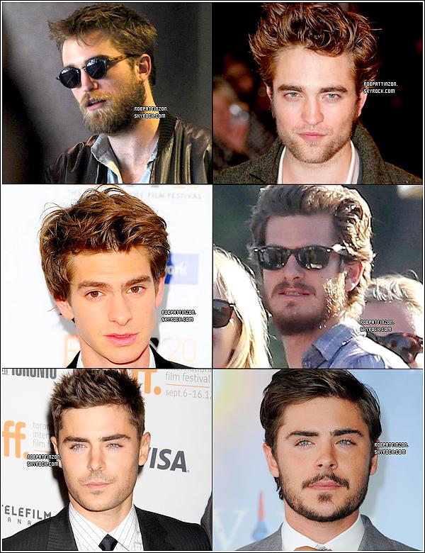 Ils ont tous les 3 perdu leur rasoir à un moment donné mais à qui va mieux la barbe ?