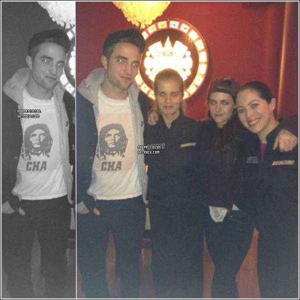 Je crois qu'on peut remercier les fans d'être là sinon on serait toujours sans nouvelles de Rob!