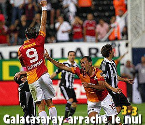 Süper Ligue 2è Journée: Besiktas - Galatasaray