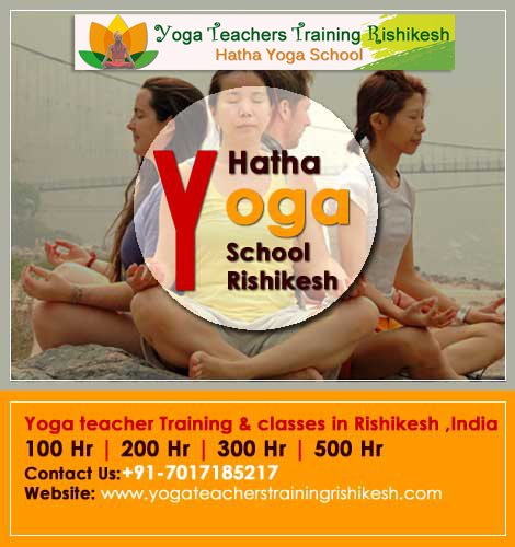 500-hour Yoga Teacher Training in Rishikesh & yoga meditation