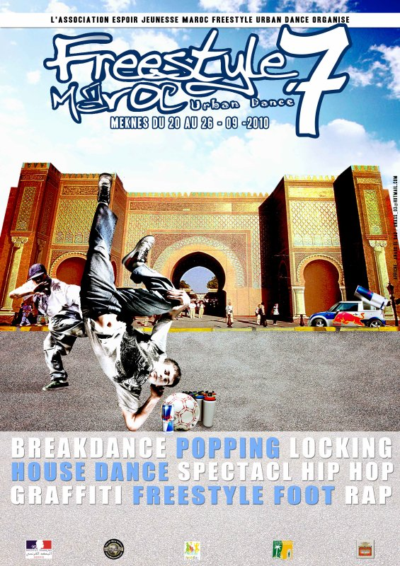 FREESTYLEMAROC URBAN DANCE / EDITION N°7 - MEKNES  2010
