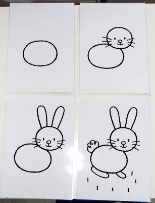 Favorit 13 et 22-05-2009 : Je dessine un lapin. [1ère partie] - Les  KF68