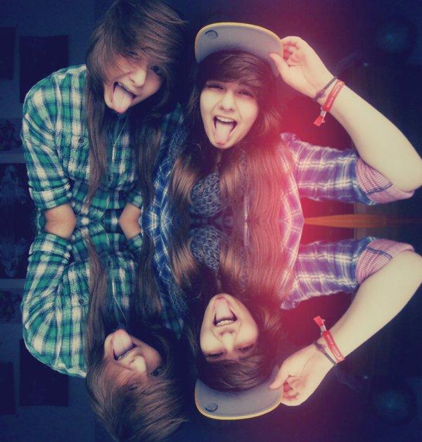 Ma soeur et moi ! :D