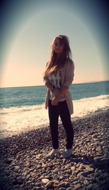 Moi à Nice ! ♥