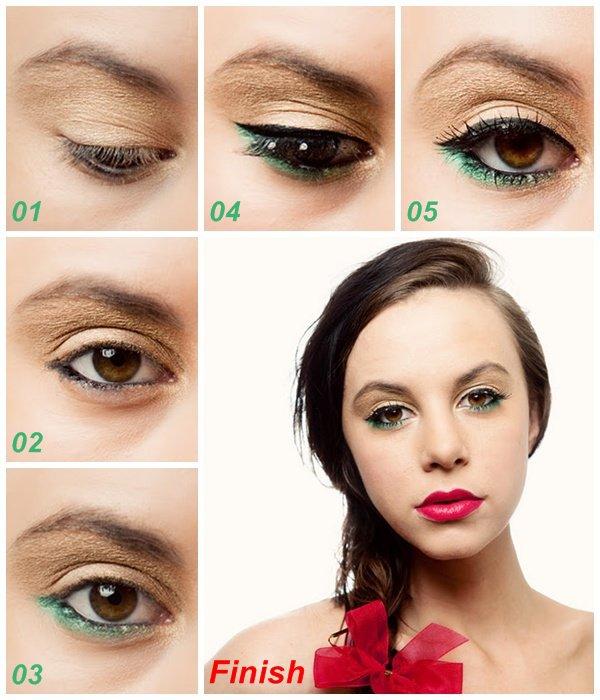 make-up tutorial.