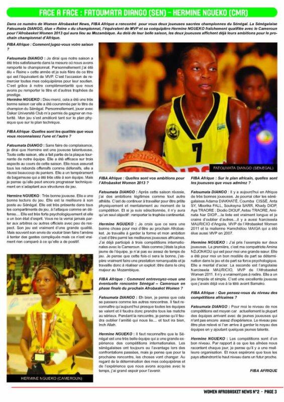 hermine  ngeko  internationale  camerounaise