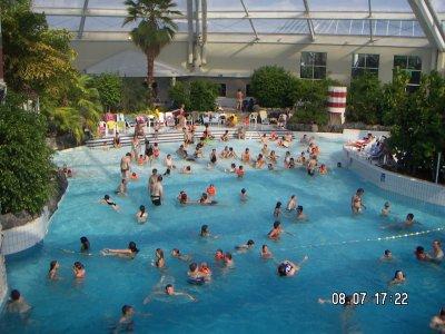 D lassement for Sun park piscine