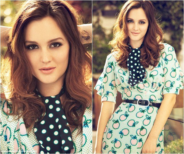 . Photoshoot | Sublime photoshoot de Leighton pour « Glamour » version espagnole. .