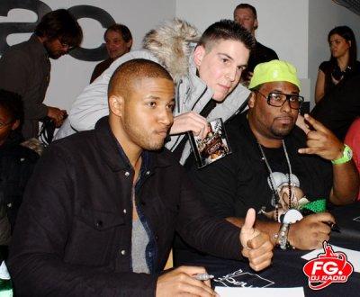 Big Ali et Gilbert Forte et Moi