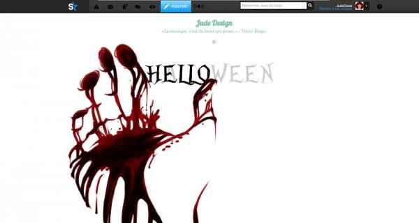 Quatrième Habillage spécial Halloween 2013!