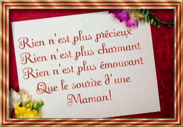 pour tous les mamans du monde