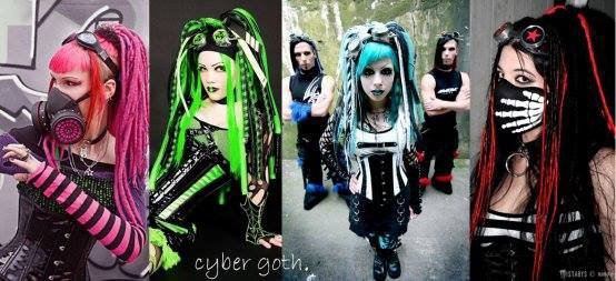 Les looks (6): Cyber-goth
