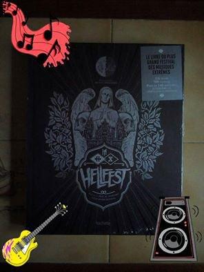 Le livre officiel du Hellfest