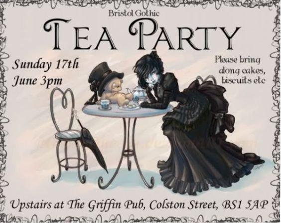 Comment organiser une Tea Party gothique ?