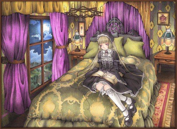 Gothic Lolita artwork...