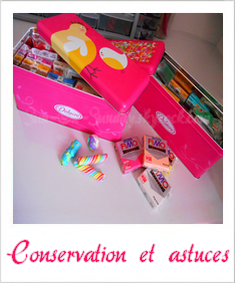 Conservation et astuces