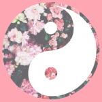 Porte clé Bouche, Yin & Yang