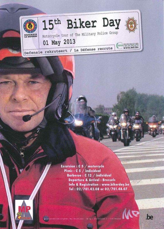 15Th Biker Day - 01 May 2013