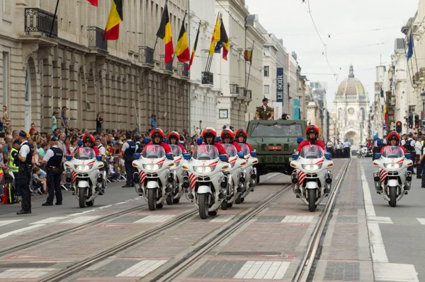 Fléche du défilé 2015