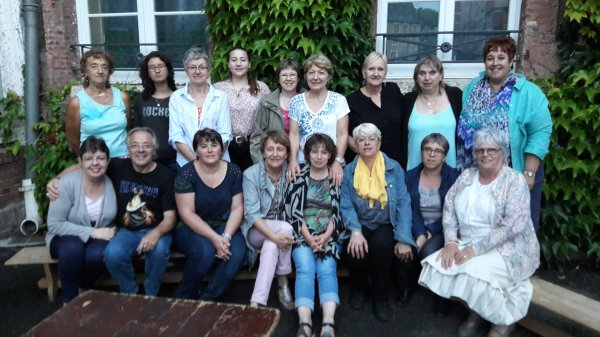 Photo groupe du dernier cours