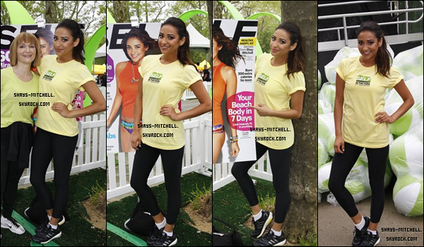 Le 11 mai, Shay était présente au 20e séance annuelle de Self Magazine